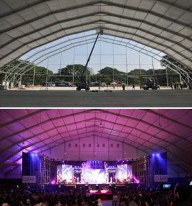 Konser Çadırları, Etkinlik ve Konser alanı çadırı
